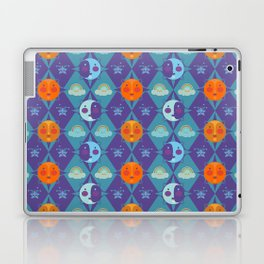 The sun, the moon and the stars Laptop & iPad Skin