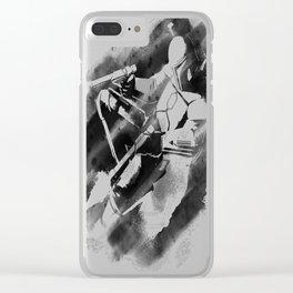 Jango Fett Clear iPhone Case