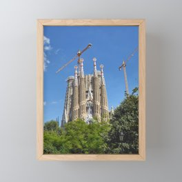 Sagrada Familia Framed Mini Art Print