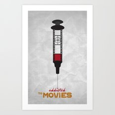 Addicted: Movies Art Print