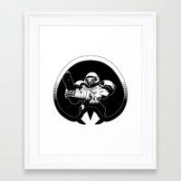 samus Framed Art Prints featuring samus by ZombieBoJackson