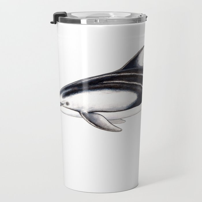 Pacific white-sided dolphin Travel Mug