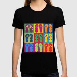 Pop Art Flip Flops T-shirt