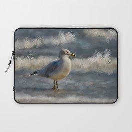 Seagull By The Seashore Laptop Sleeve