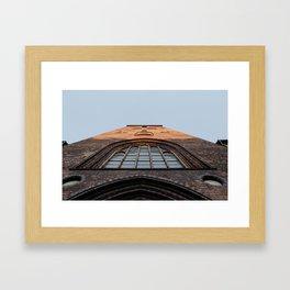 aarhus domkirke Framed Art Print