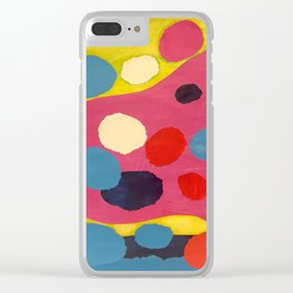 Morocco 8 Clear iPhone Case