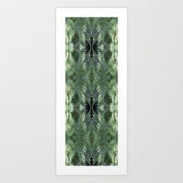 Bronx Botanical Garden Green Ferns Art Print