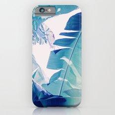 Banana Leaf Blue Slim Case iPhone 6s