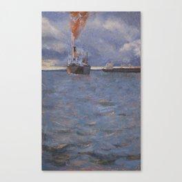 Bahia de Todos os Santos Canvas Print
