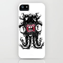 Ink Ghostie Squid iPhone Case