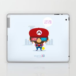 mario 3d Laptop & iPad Skin
