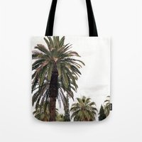 palms Tote Bags featuring PALMS by N A T