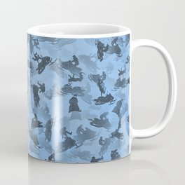 Snowmobile camouflage Coffee Mug