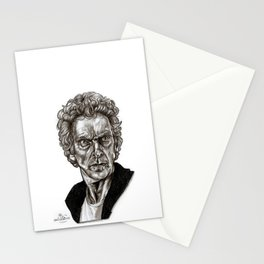 Peter Capaldi - Doctor Who - Drawing Stationery Cards