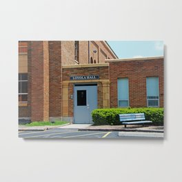 Gesu School Loyola Hall Metal Print