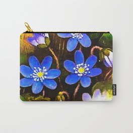 Hepatica flower Carry-All Pouch