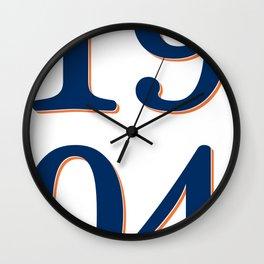1904 Wall Clock