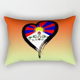 Heart Nation 07 Rectangular Pillow