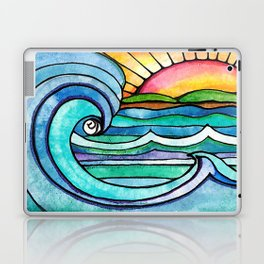 Beachy #society6 #spring #summer Laptop & iPad Skin