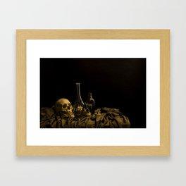 Still Life: Vanity Framed Art Print