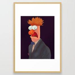 Mister Beaker Framed Art Print