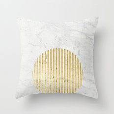 gOld sun Throw Pillow