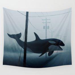 Ocean Wake Wall Tapestry