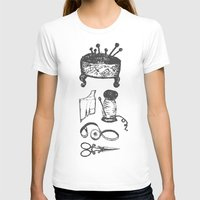 sewing T-shirts featuring Sewing lessons by Fiorella Modolo
