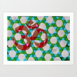 OM #1 Art Print