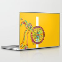 bike Laptop & iPad Skins featuring Bike by Rceeh