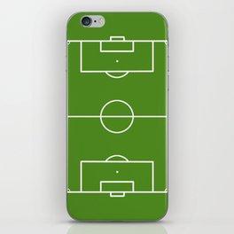 Football field fun design soccer field iPhone Skin