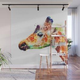 The Graceful - Giraffe Wall Mural