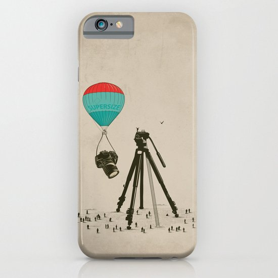 Supersize Cam Attraction iPhone & iPod Case