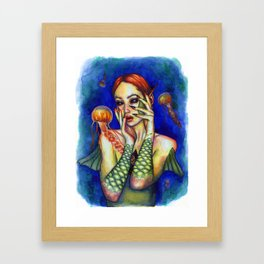 Ultramarine Framed Art Print