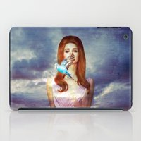 ultraviolence iPad Cases featuring I Hear The Birds by Wis Marvin