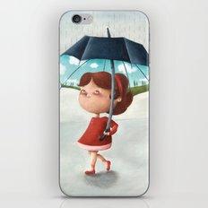 Happy umbrella iPhone Skin
