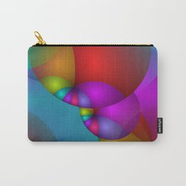 3D abstraction -14- Carry-All Pouch