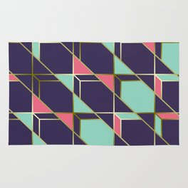 Ultra Deco 2 #society6 #ultraviolet #artdeco Rug