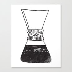 chemex coffee Canvas Print