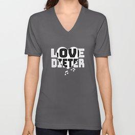 Dear Dieter The Star Gift Idea Unisex V-Neck