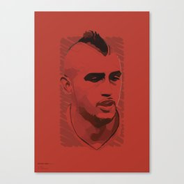 World Cup Edition - Arturo Vidal / Chile Canvas Print