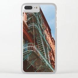 Soho XI Clear iPhone Case