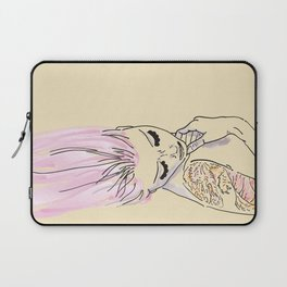 Girl with the dragon tattoo Laptop Sleeve