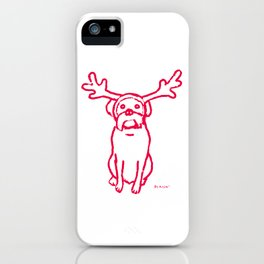 Scamp The Reindeer Dog iPhone Case