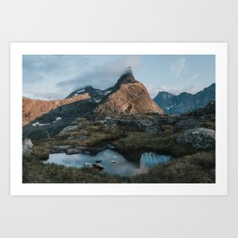 Romsdalshorn - Landscape and Nature Photography Art Print