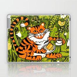 Tiger teatime Laptop & iPad Skin
