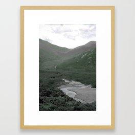 MOUNTAINS - AUSTRALIA Framed Art Print
