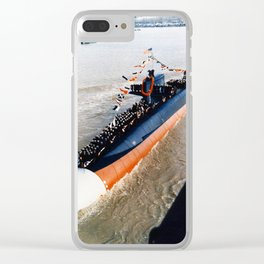 USS KAMEHAMEHA (SSBN-642) Clear iPhone Case