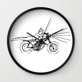 Deus Ex Machina Wall Clock