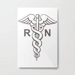 nurses Metal Print
